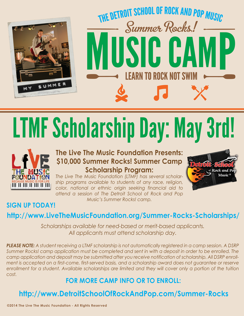 scholarship application for a music program The tony dipardo instrumental music foundation and scholarship fund was established in honor and memory of instrumental music leader tony dipardo to support students pursuing instrumental music education at the college or university level and also programs that enhance and encourage students' appreciation for instrumental music.